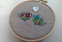 Embroidery & Hoop Creations