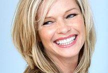 hair medium length layers ideas blond