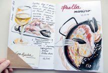 Sketch. Trawellerbook