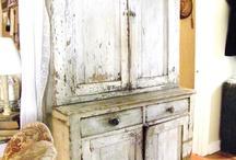    antiques - cupboards & storage   