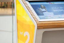 agora touchscreen desk