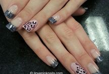 makeup and nails / by Breanna Thompson
