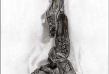 Irish dancer art
