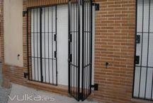 Rejas para entradas de puertas
