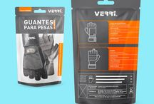 gloves packaging / Hanske design