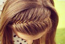 Haare / Haarreif aus einer flechtung
