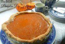 Pumpkin filling
