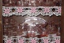 Pink Depression Glass / by Alice Lawrence