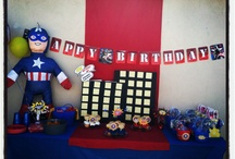 "My ""Happily Ever After"" Event-Captain America Party / by Debbie Cordischi"