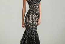 engagement dress black