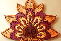 Sacred Geometry Art - Sculptural Forms / Sculpture, Woodcraft, Leather, Carving, Metal