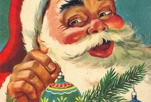 Christmas-Santas / by Tracey Hotlon