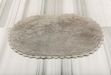 Bath Rugs / Made from premium quality cotton, our range of bath rugs offers a soft, luxurious feel underfoot. Coming in a rich palette of single and blended colors, each rug is woven from 100% natural cotton with the long, delicate loops of the fabric providing exceptional absorbency. Each rug style comes with several different sizing options.