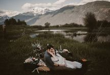 Glorious Sunset Wedding in the Mountains / Glorious Sunset Wedding in the Mountains of British Columbia | Of Earth and Soul Photography | West Coast Weddings