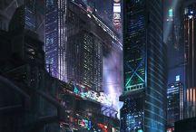 concept art - city