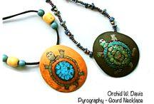 Gourd Jewelry, Necklace , Earring