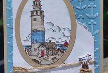 Birthday - Lighthouse cards