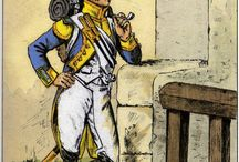 Infanterie Tambours  et tête de colonnes