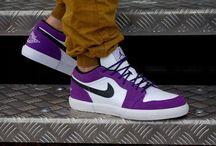 Nike Air Jordan Retro V.1 (481177-503) Club Purple/Black–White