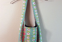"""Inspiration-Cabinet """"Sew yourself"""" / the sixth shelf Inspiration-cabinet include things you can sew"""