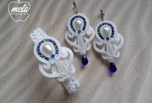 Soutache / Earrings 1