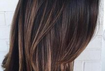 Brown hairstyles