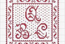 Cross Stitch:  Alphabet
