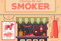 Smoking meat & Smokers / Smoking meat is an art. Check out our articles to understand more about smokers.