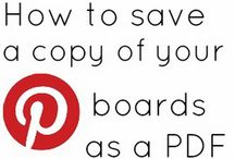 Saving and printing from Pinterest