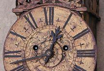 Viejos relojes.