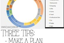 Budgeting Tips / budgeting, money, tips, living on a budget, planning, budget friendly, organization, saving money,