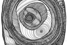 Zentangle Окружности