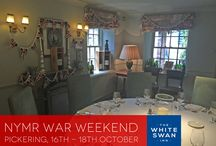 NYMR War Weekend / Pickering, 16th - 18th October 2015 / by The White Swan Inn