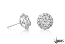 Diamond Earrings / Our diamond earrings will sparkle with your beautiful eyes - all night long!