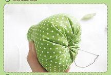 Frutas de tecidos