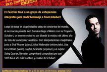 "Mailing Festival México / Diseño de ""mailings"" para el 24 Festival de México"