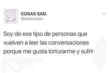 cosas sad