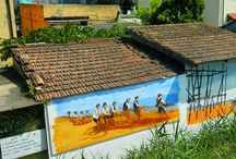 Along the  >Marecchia< river of artists - Rimini
