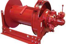 Ellsen hydraulic industrial winch with high quality for sale