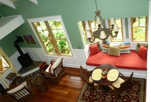 Home: Window Seat / I have always dreamed of living in a house with a window seat. And some day, I will!