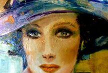 HATS & BEAUTIFUL WOMEN