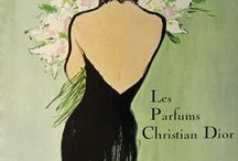 vintage fashion / perfume ads