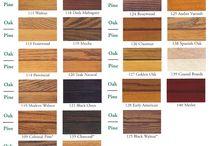 Pine colours