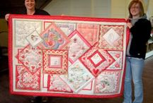 Quilts from hankies