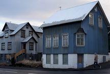 exteriors, house