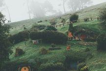 Middle earth / When I watch hobbit, I feel joy