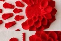 Papír virágok
