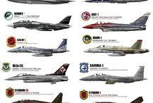 AIR FORCE  - vzdušné sily LETECTVO...