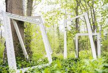 """Mariage """"Forêt enchantée"""" / Au coeur d'un bois, une ambiance où se mêle décor naturel et objets précieux."""
