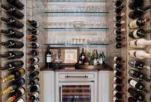 Bar on house / Ideas de minibar para resguardar las gotas de la felicidad